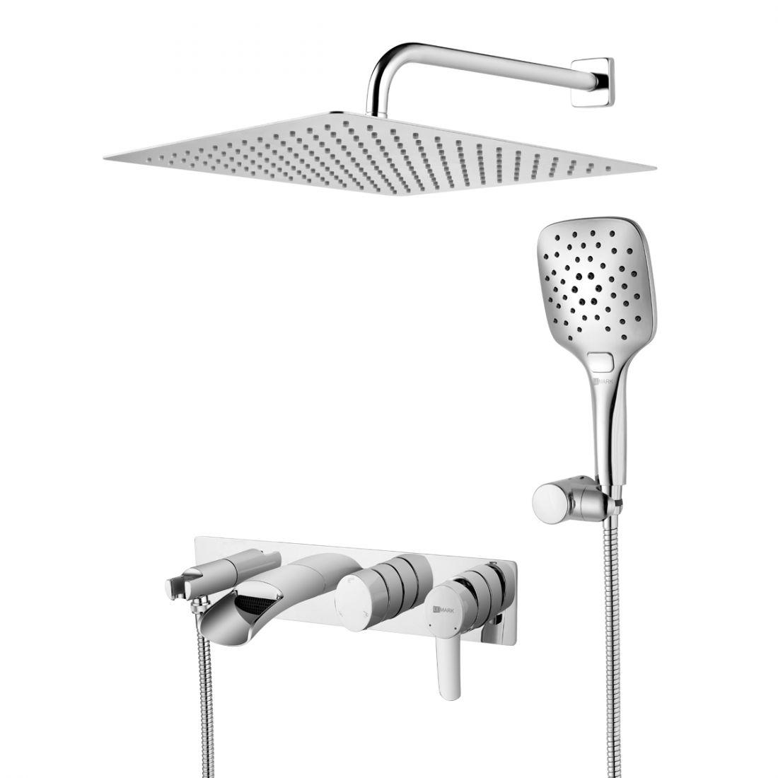 Душевая система Lemark Atlantiss для ванны и душа (LM3225C)