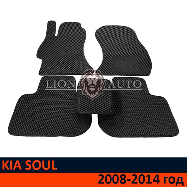 EVA коврики на KIA SOUL (2008-2014г)