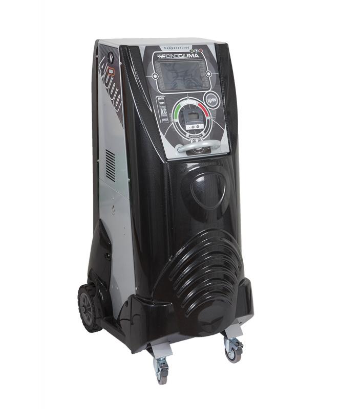 TECNOCLIMA 4000 TOUCH PRINTER установка для заправки кондиционеров, автомат, принтер