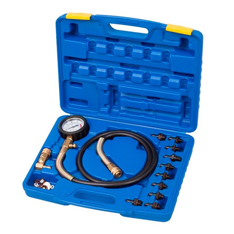 Набор для измерения давления в системе смазки, измерение давления в пределах 0-10 бар.