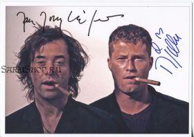Автографы: Тиль Швайгер, Ян Йозеф Лиферс. Достучаться до небес