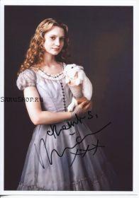 Автограф: Миа Васиковска. Алиса в Стране чудес