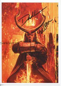 Автограф: Дэвид Харбор. Хеллбой / Hellboy