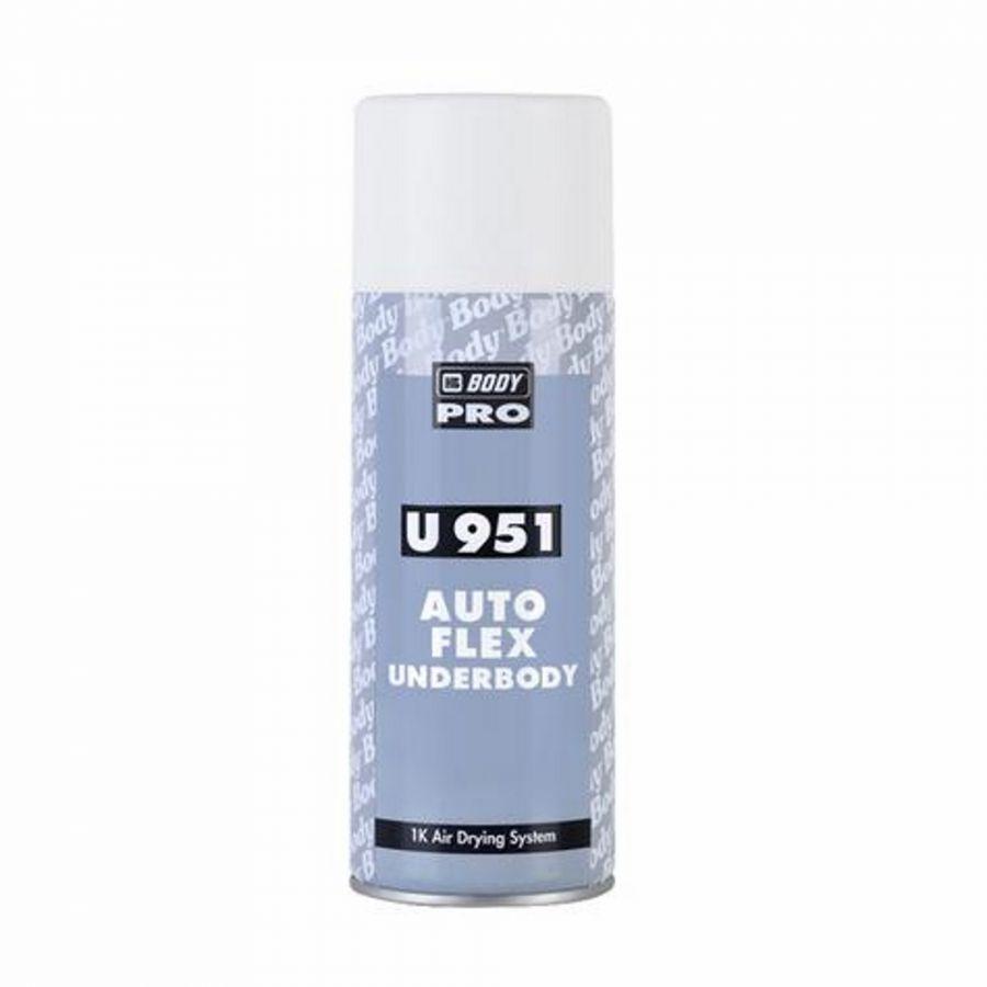 BODY 951 Autoflex Белый антикорозионный состав  в аэрозоли, 0,4 л.