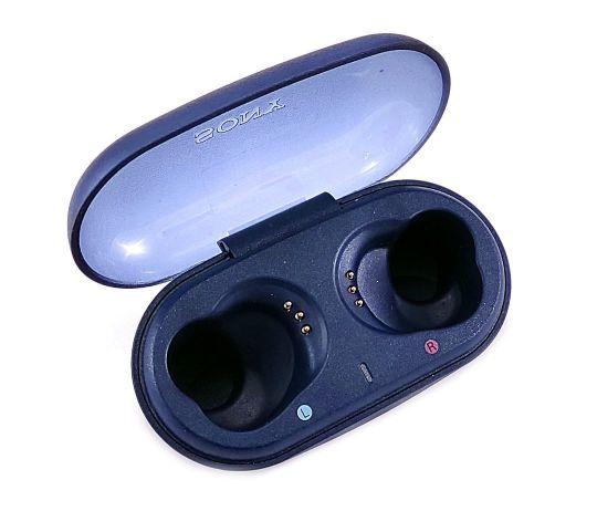 Кейс для наушников Sony WF-XB700 синий, б/у