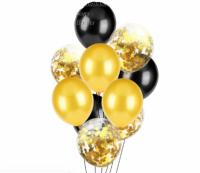 Цветные латексные шары воздушные шары с конфетти 2