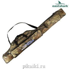 Eastshark Чехол для удочек 2 секции осенний лес/камуфляж