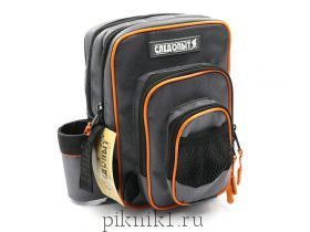 "Сумка ""СЛЕДОПЫТ"" Street Fishing MultiLock Pocket, 16х19х24 см, цв. серый /PF-BBK-07"