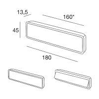 Ручка Pamar MN959 Z для раздвижных дверей схема