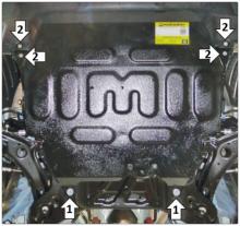 Защита картера и КПП, Мotodor, сталь 2мм