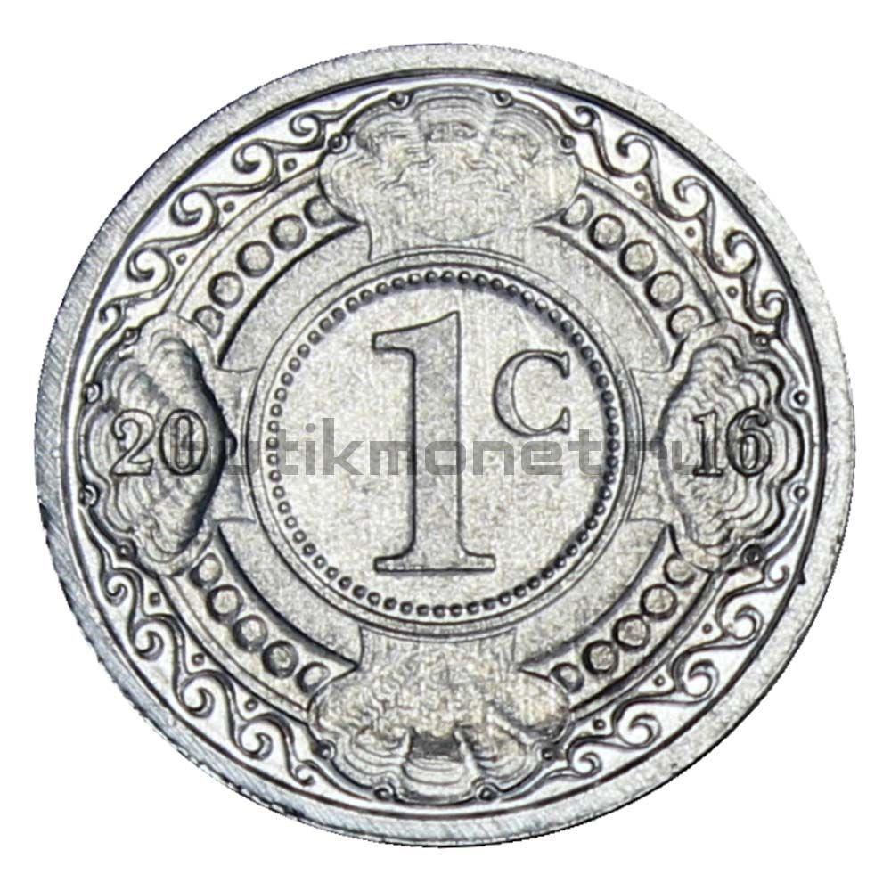 1 цент 2016 Нидерландские Антильские острова