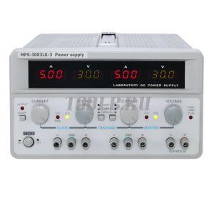 MPS-3003LK-3 Линейный источник питания 3 канала 30 вольт 3 ампера