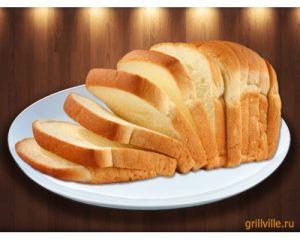 Хлеб белый 100г