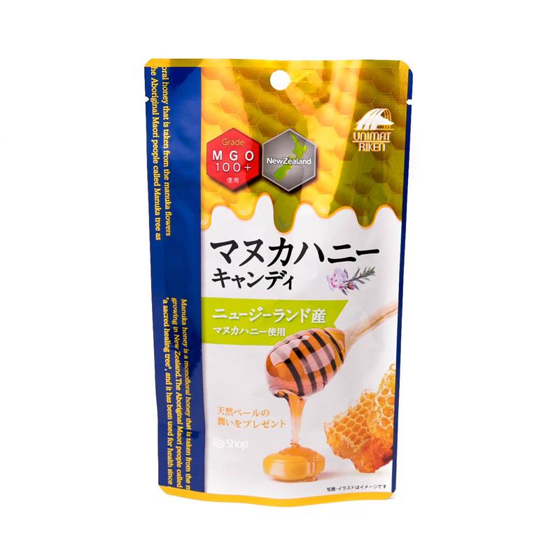 Леденцы для горла Unimat Riken Manuka Honey MGO100+