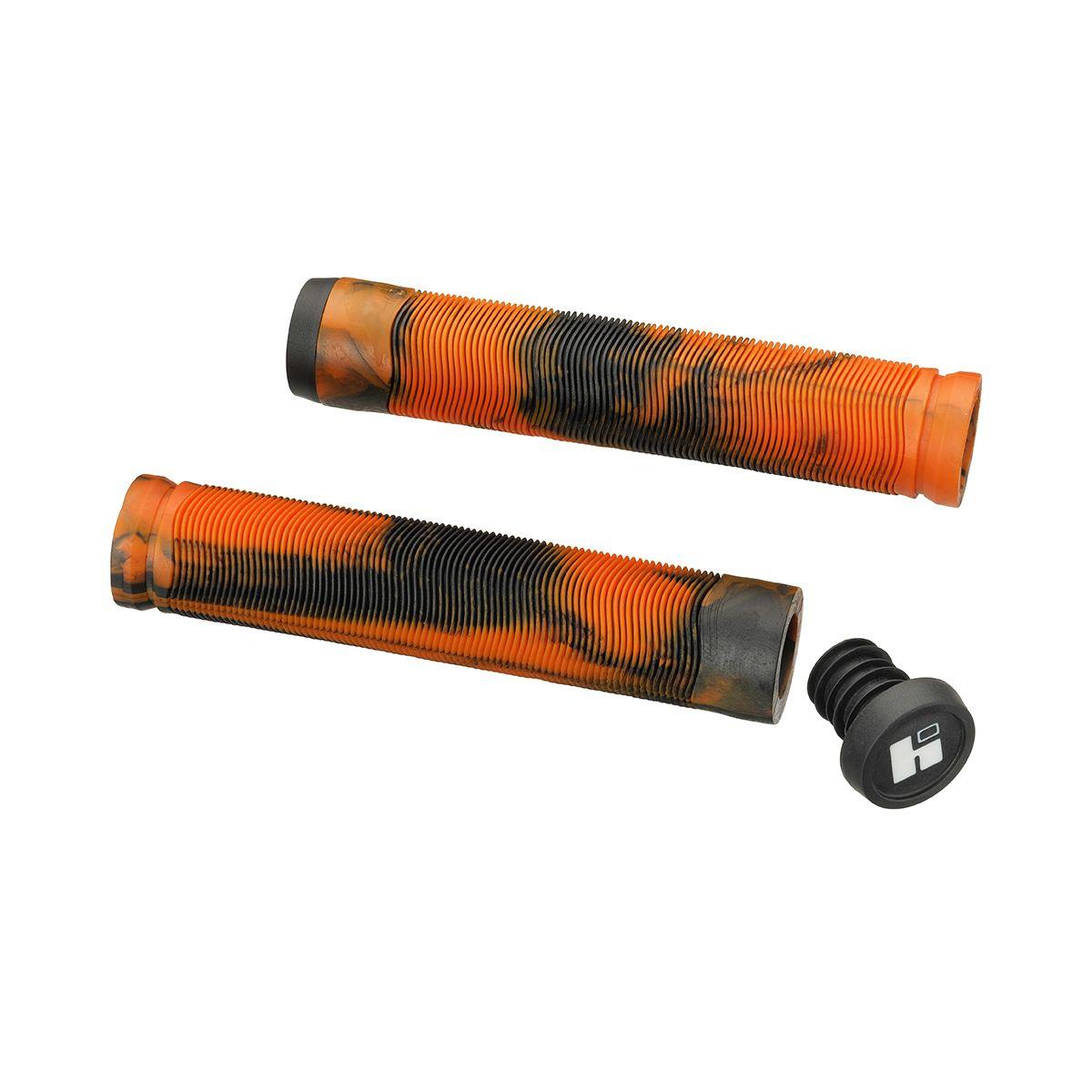 Грипсы HIPE H4 Duo 155 мм черно-оранжевые