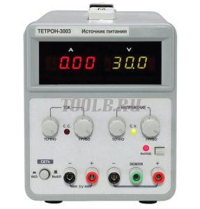 ТЕТРОН-3003 Линейный источник питания 30 вольт 3 ампера