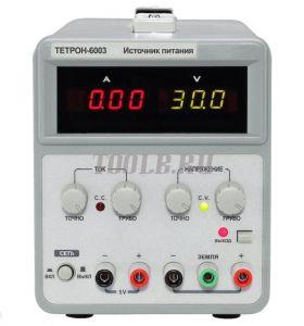 ТЕТРОН-6003 Линейный источник питания 60 вольт 3 ампера