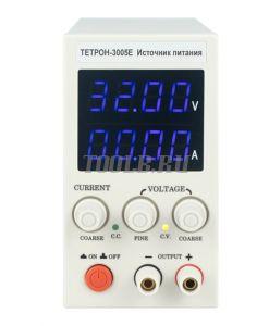 ТЕТРОН-3005Е Импульсный источник питания 30 вольт 5 ампер