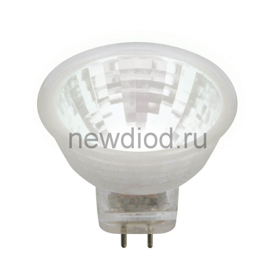 Лампа светодиодная LED-MR11-3W/NW/GU4/220V GLZ21TR 220V прозрачная 4000К ТМ Uniel