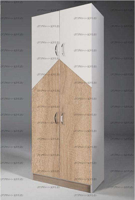 Шкаф двухдверный для одежды НД-03 (67х52х200)