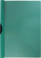 Папка-клип пластиковая ErichKrause® Clipfile, A4, зеленый (в пакете по 12 шт.)