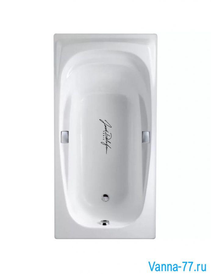 Ванна Jacob Delafon Super Repos 180х90 Е2902-00 с отверстиями под ручки