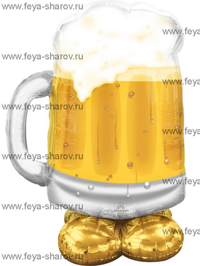 Шар кружка пива 124 см