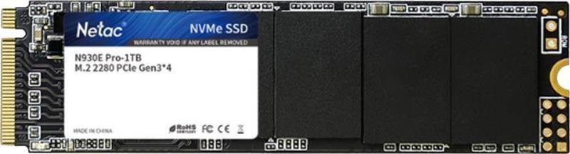 Накопитель SSD Netac 500Gb SSD M.2 N950E Pro (NT01N950E-500G-E4X)