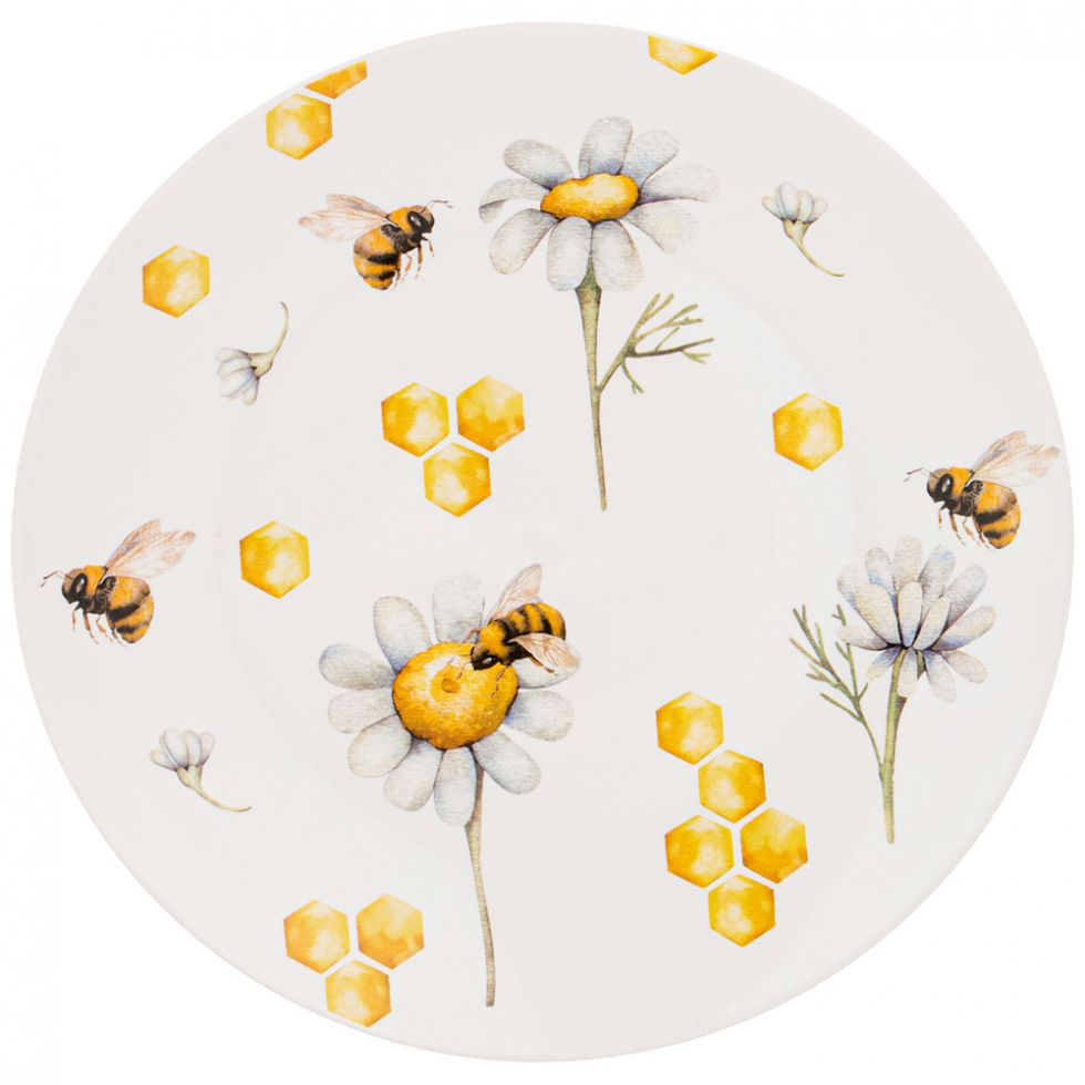 """ТАРЕЛКА ЗАКУСОЧНАЯ LEFARD """"HONEY BEE"""" 20,5 СМ"""