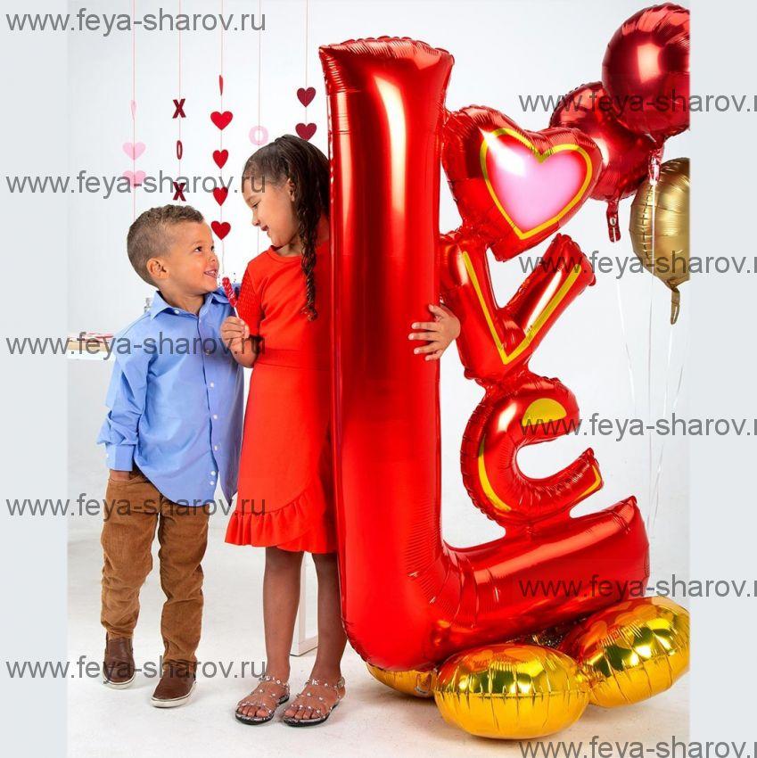 Шар Love 147 см