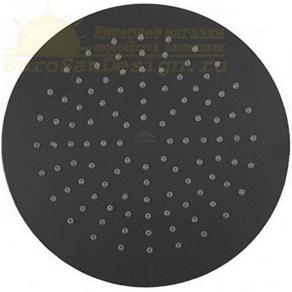 Верхний душ Paffoni Master ZSOF079NO/ZSOF034NO Черный матовый ФОТО