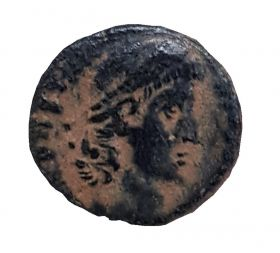 Римская монета Фоллис №3. ОРИГИНАЛ Римская Империя 1-2 век