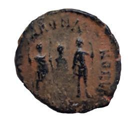 Римская монета Фоллис №8. ОРИГИНАЛ Римская Империя 1-2 век