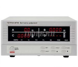 ТЕТРОН-МТ95 Ваттметр цифровой 600 В, 20 А, 12 кВт