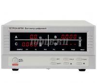 ТЕТРОН-МТ95 Ваттметр цифровой 600 В, 20 А, 12 кВт фото