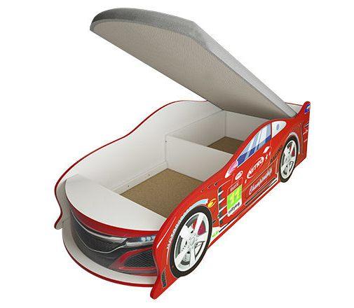 Кровать-машинка с ящиком