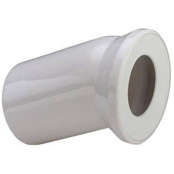 Отвод Viega 101855 22.5  с манжетным уплотнением ФОТО