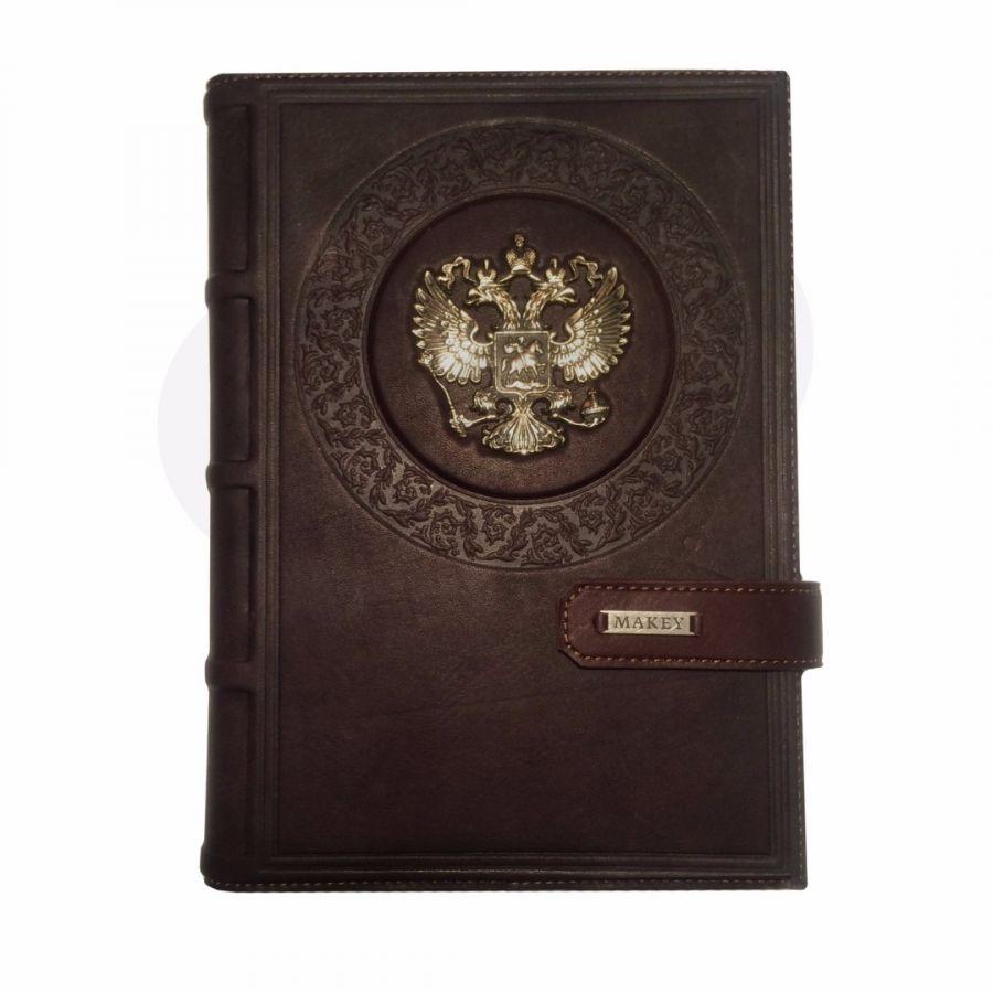 Ежедневник А5 «Империя 1» Коричневый