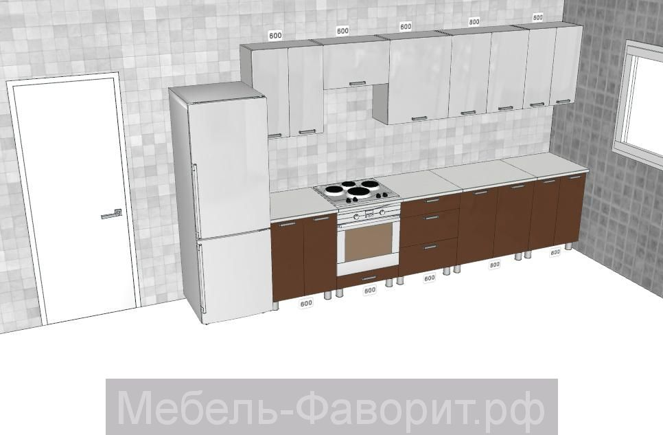 Кухня Модерн 3200 мм