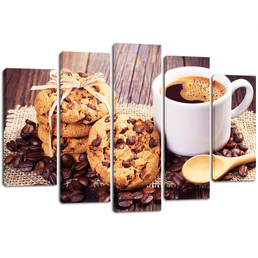 Модульная картина Кофе 6