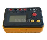ТЕТРОН-М10 Мегаомметр цифровой 1000 Вольт 40 ГОм фото