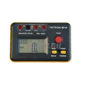 ТЕТРОН-М10 Мегаомметр цифровой 1000 Вольт 40 ГОм