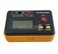 ТЕТРОН-М25 Мегаомметр цифровой 2500 Вольт 40 ГОм фото