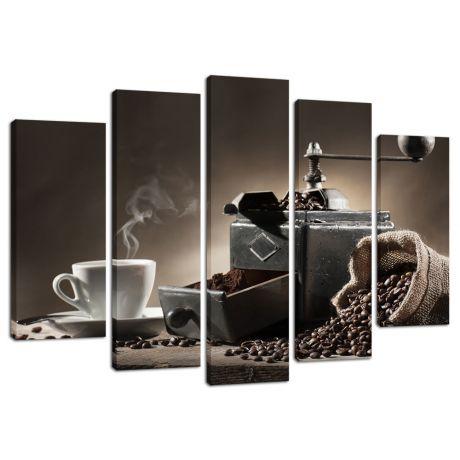 Модульная картина Кофе 21