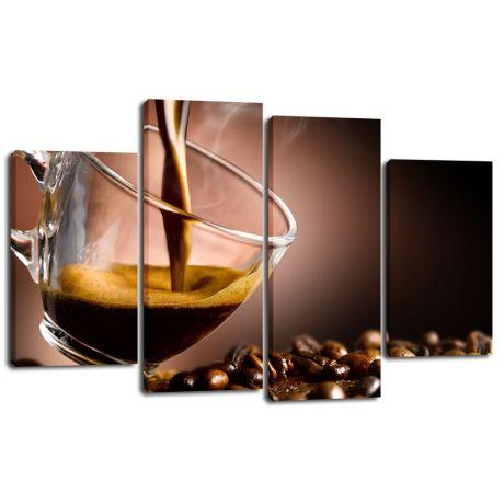 Модульная картина Кофе 25