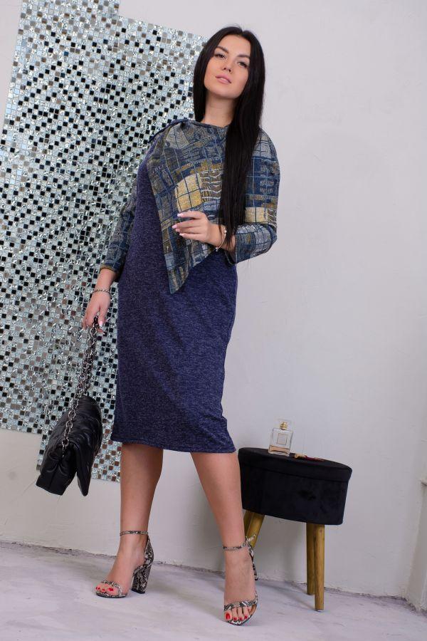 Платье 13491 [синий]