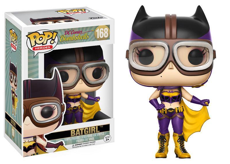 Фигурка Funko POP! Vinyl: DC: DC Bombshells Batgirl 12852