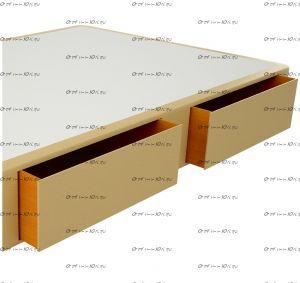 Ящик подкроватный Эко к боксу Site Box-30  (березовая фанера)