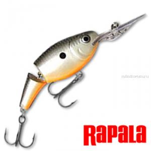 Воблер RapaIa Jointed Shad Rap 50мм / 8 гр / Заглубление: 1,8 - 3,9 м / цвет: JSR05-OPSD