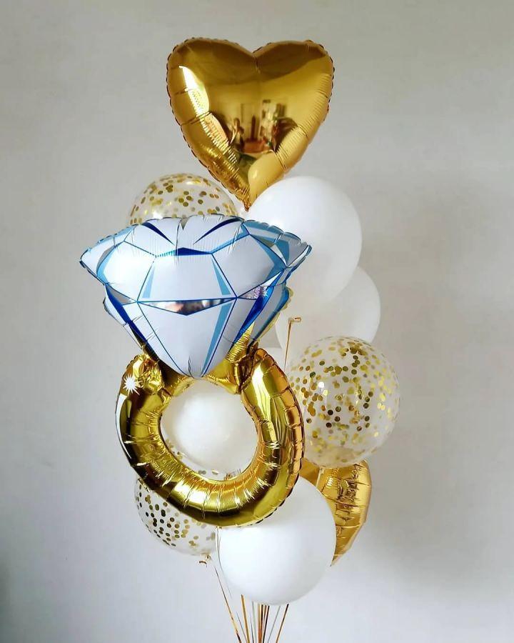 Набор шаров с кольцом